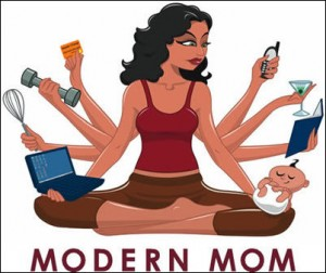 Work From Home Moms Image
