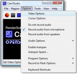 Free Screen-Recorder Camstudio