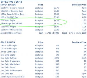 POW Prices 7.27