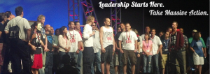 Stage Shot of leaders of Empower Network