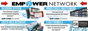 Graphic of Empower Network 4 Products