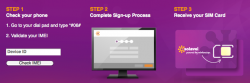 Image of Solavei Phone Check Page