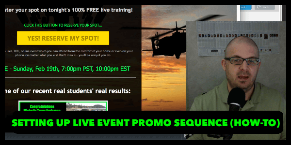 AlanCosens.com Promote Live Events