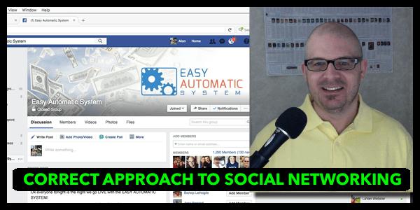 AlanCosens.com Correct Approach to Social Networking