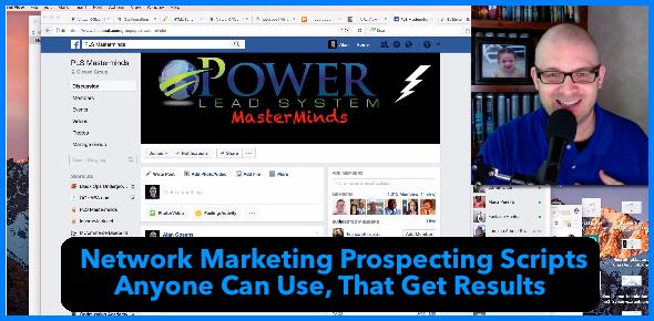 AlanCosens.com Network Marketing Prospecting Scripts