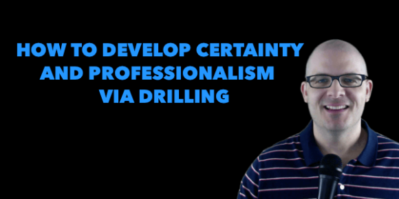 Alan Cosens - Drilling for Professionalism