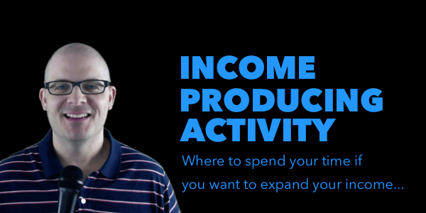 Alan Cosens - Income Producing Activity