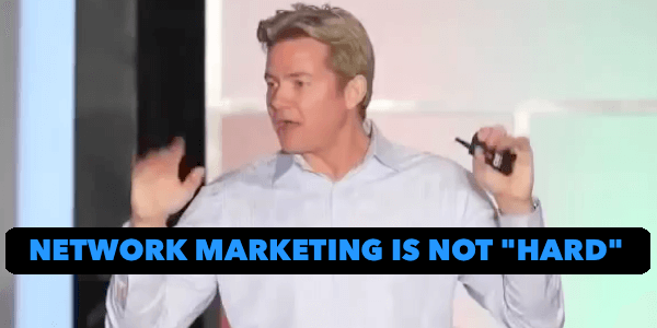 Alan Cosens - Network Marketing is Not Hard With Tim Sales