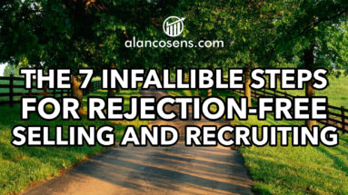 Alan Cosens, 7 Steps, No Rejection Recruiting
