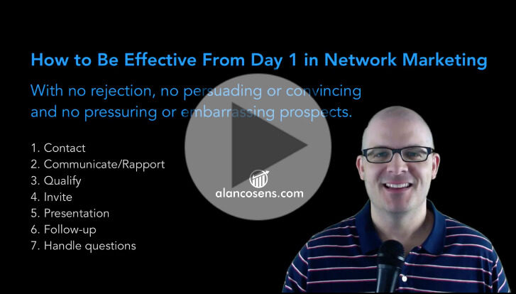 Coaching Session Replay: How to Be Effective in Network Marketing