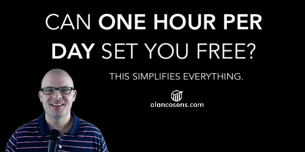 Alan Cosens - One Hour Per Day