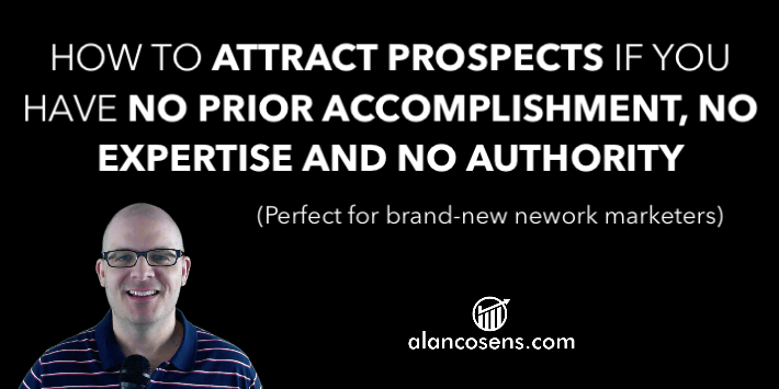 Alan Cosens, Attract More Prospects