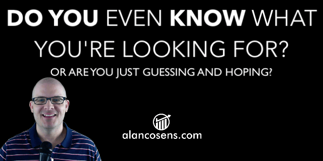 Alan Cosens, Do You Know What You're Looking For?