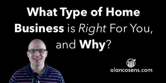 Alan Cosens - Why Network Marketing?