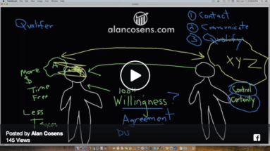 Alan Cosens, No Resistance Selling and Recruiting