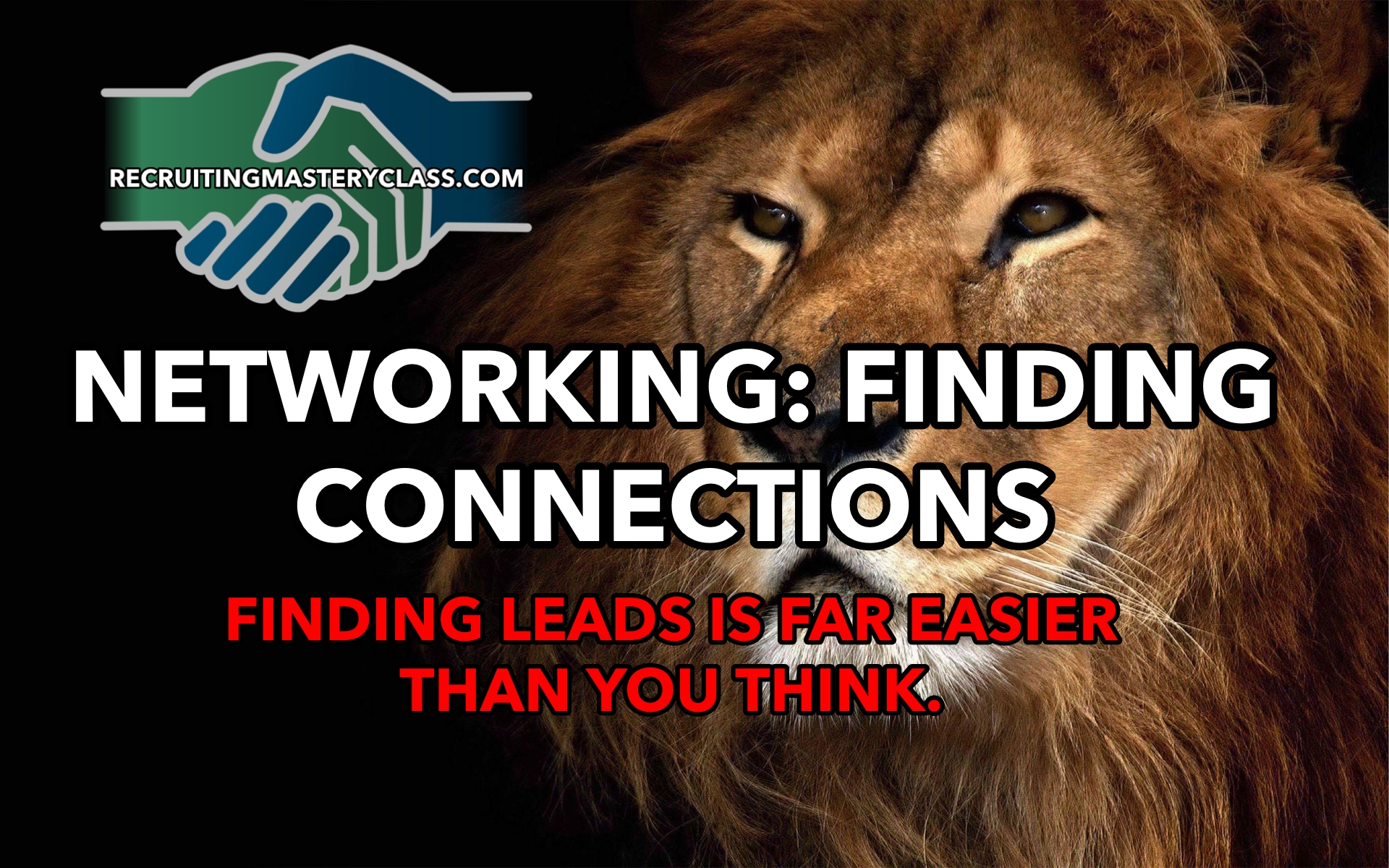 Live Network Marketing Coaching: Networking, Finding Connections, Unlimited Leads