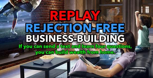 Alan Cosens Network Marketing Training, No-Rejection Building