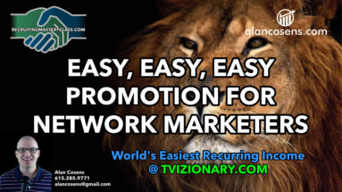 Alan Cosens, Easy Promotion For Network Marketers