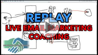 Alan Cosens, Email Marketing Coaching