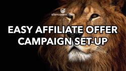 Alan Cosens Affiliate Marketing Easy Campaign
