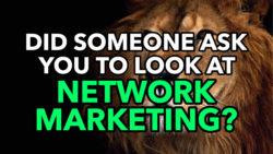 Is Network Marketing Bad?   AlanCosens.com