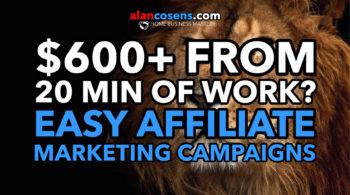 Easy Affiliate Marketing, AlanCosens.com