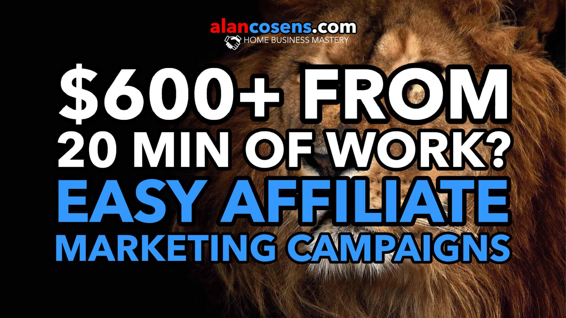 Easy Affiliate Marketing, Full Demonstration