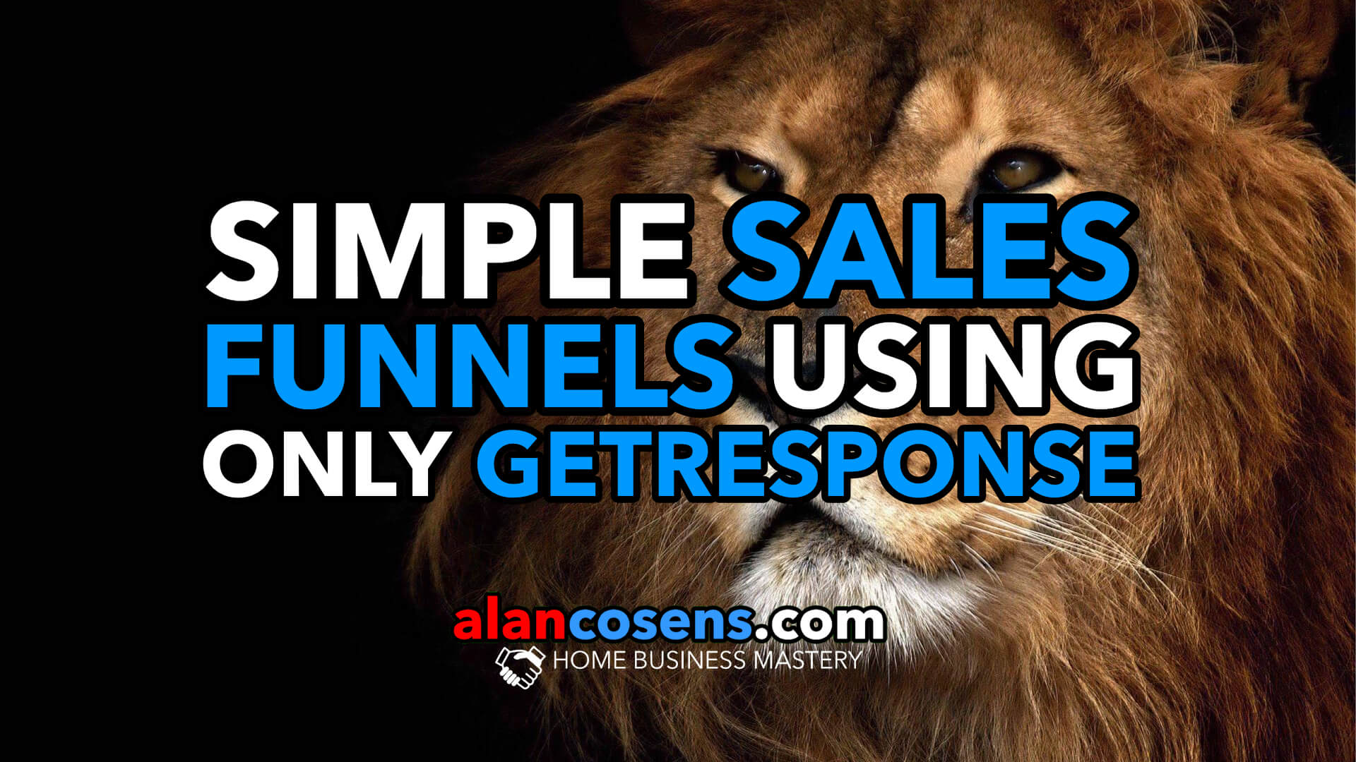 Create Simple Sales Funnels Using Only GetResponse