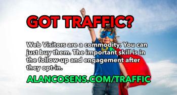 Order Web Traffic - AlanCosens.com