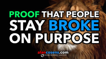 Proof That People Stay Broke On Purpose - Network Marketing Training