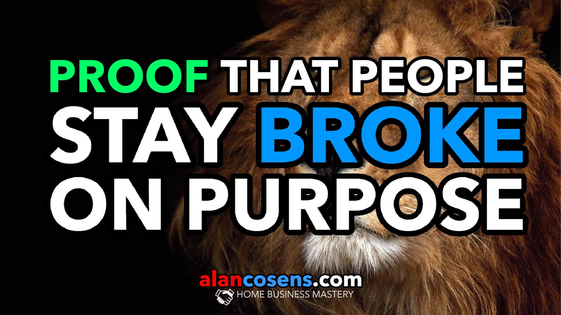Proof That People Stay Broke On Purpose
