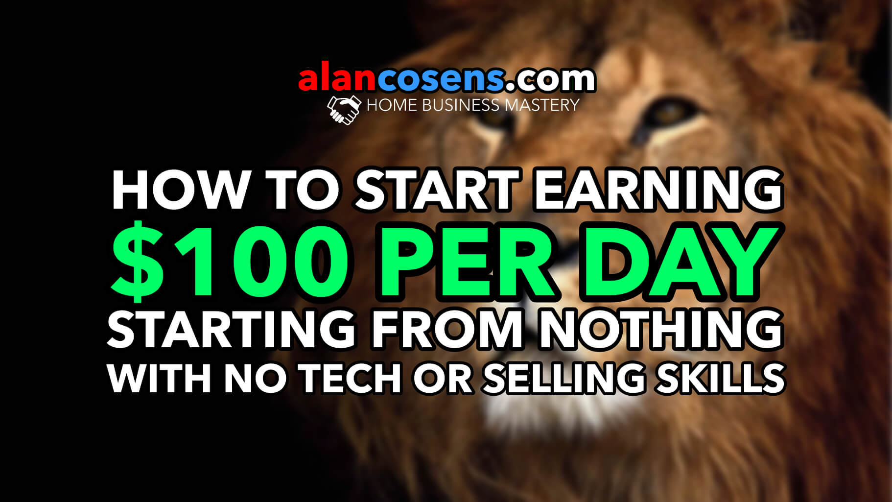 $100 Per Day, Starting From Nothing