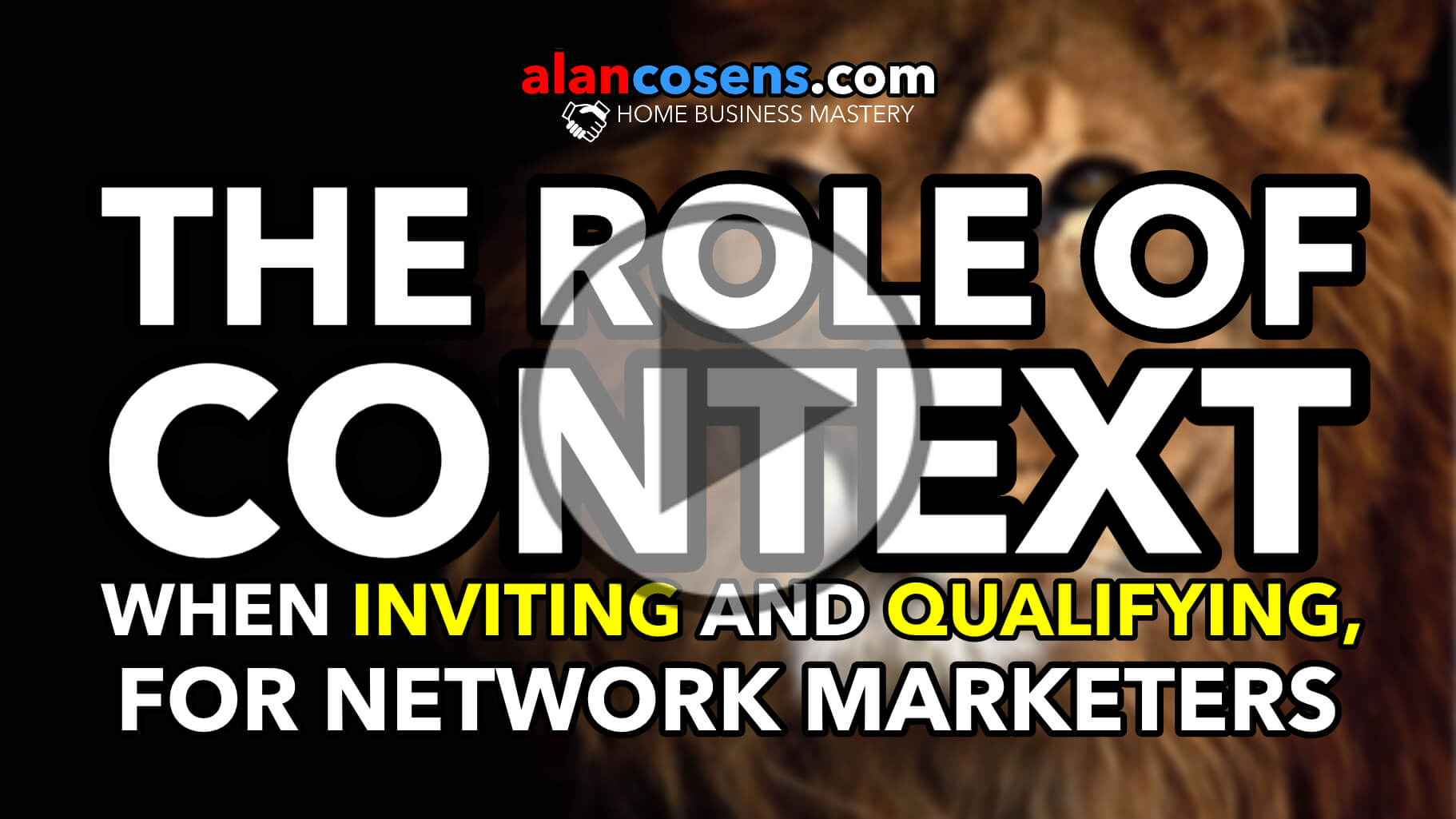 The Role of CONTEXT When Inviting and Qualifying