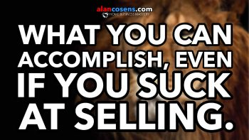 Income Potential of Network Marketing Even If You Suck At Selling - Alan Cosens Network Marketing Mastery