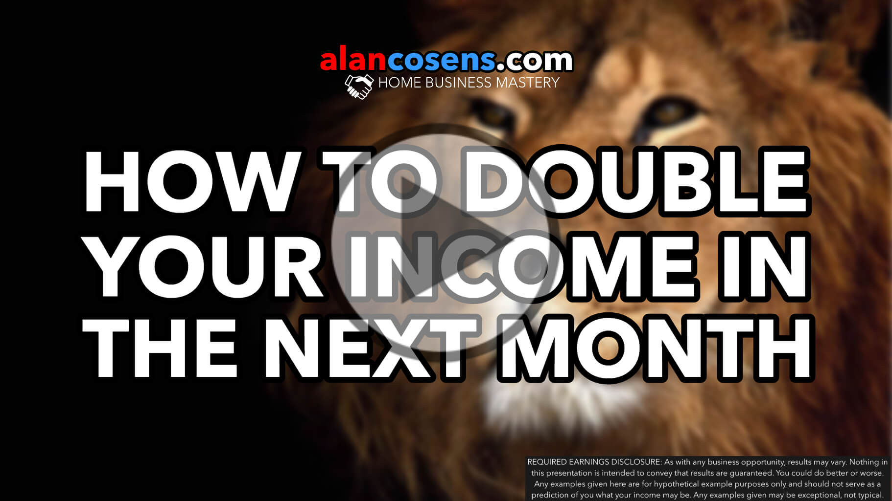 How To Double Your Income In The Next Month