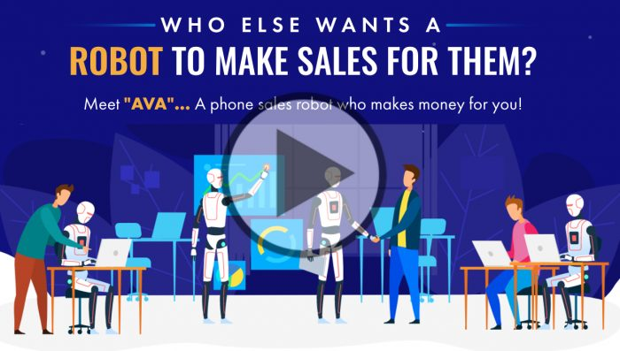 Who Else Wants...  A Simple Home Business, With A ROBOT THAT MAKES SALES FOR YOU?