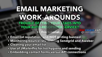 Email Marketing Work-Arounds, Home Business Mastery - Alan Cosens