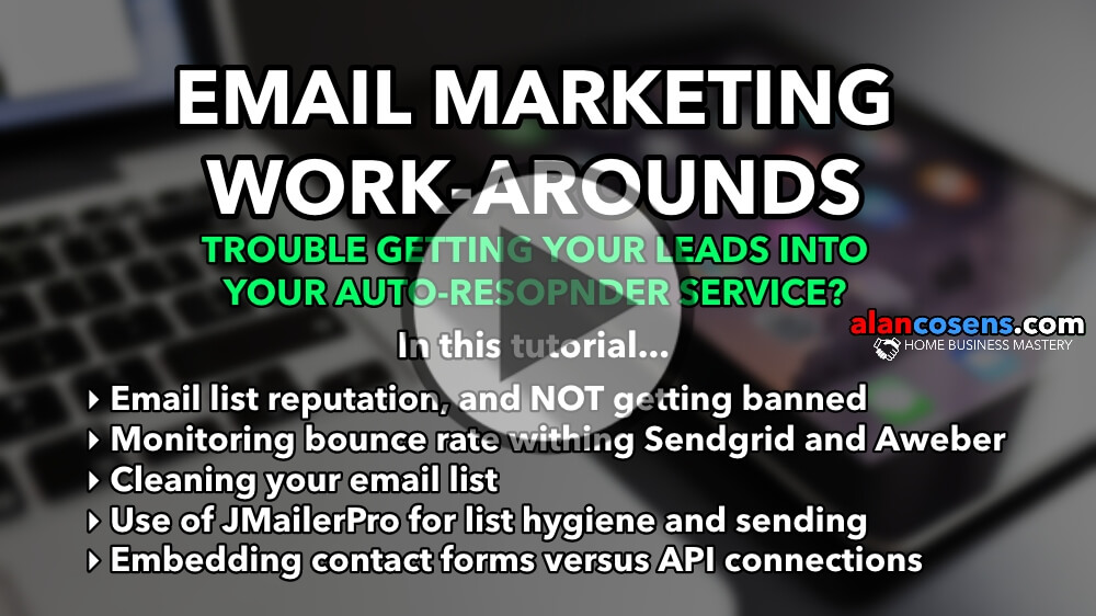 Email Marketing Work-Arounds, Importing Safely, Maintaining Sender Reputation