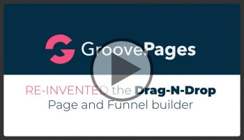 GroovePages, Re-invented the drag&drop page and funnel builder