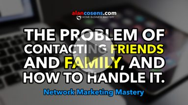 The Problem of Contacting Friends and Family