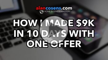 How I Made $9K in 10 Days With One Offer