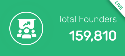 GoFounder/OnPassive total Founders to date