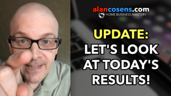 UPDATE: Today's Results Thus Far - 184K Per Month Plan