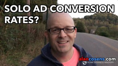 Solo Ad Conversion Rates, and How Much Does it Matter?